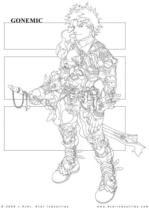 Иллюстратор Jeff Axer (278 работ)
