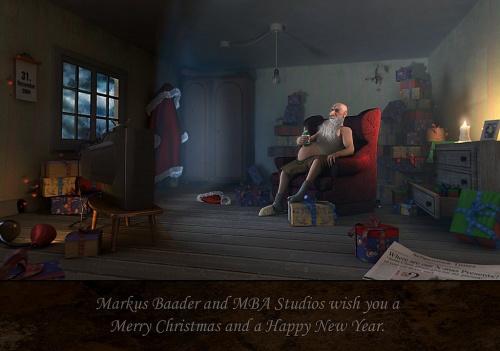 Digital Art - Новогодняя подборка (51 работ)