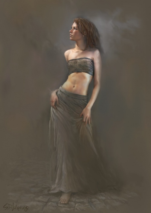 Художник цифровой и традиционной живописи Steve De La Mare (псевдоним - mrDExArts) (59 работ)