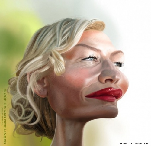 Карикатуры Эда Ван Дер Линдена (21 работ)