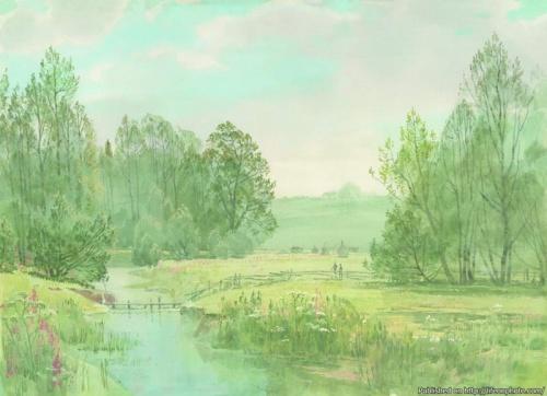 Восхитительная живопись Вячеслава Чернакова (21 работ)
