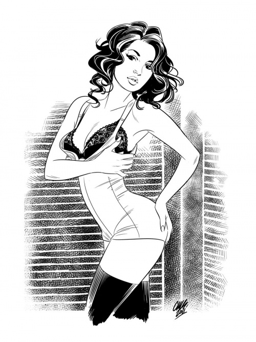 Pin-Up Collection by Cameron Stewart (87 работ)
