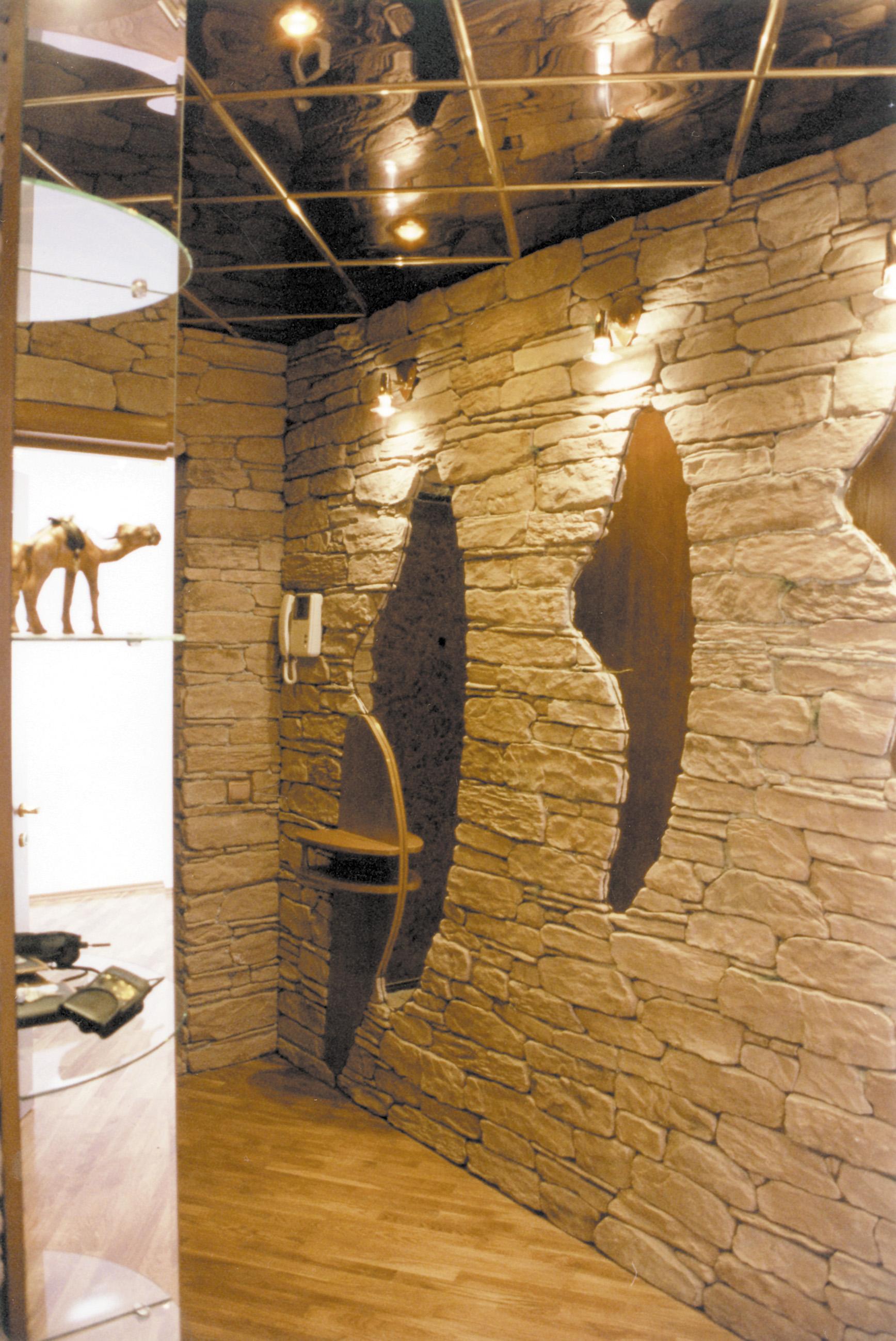 Отделка стен декоративным камнем Опубликовано Сентябрь 24, 2012 в рубрике: Дизайн интерьера Для современного дизайна...