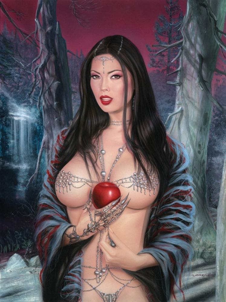 Красивые арты фэнтези эротика