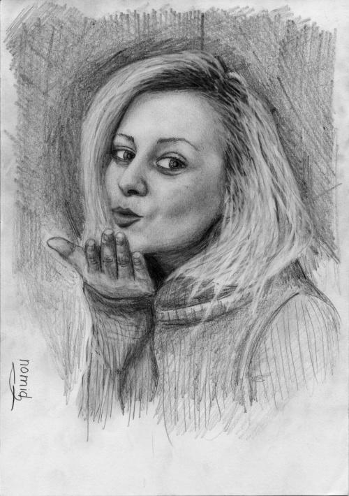 Рисунки карандашом от nomid (9 работ)