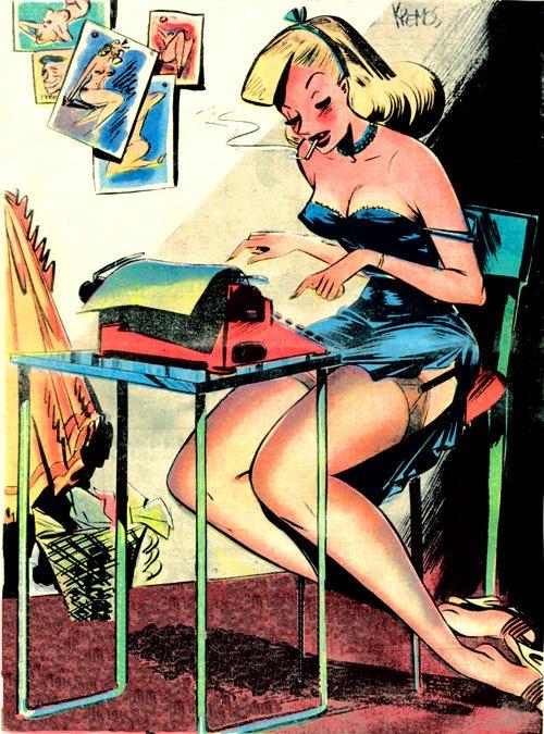 Забытые иллюстраторы - Niso Ramponi (aka Kremos) (41 работ)