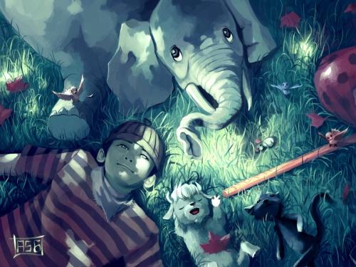 Иллюстратор Cyril Rolando (2011) (77 работ)