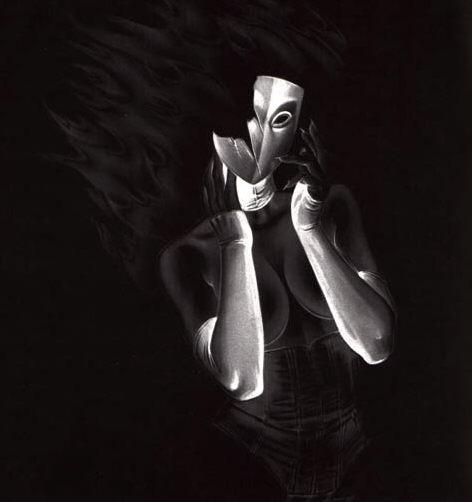 Большая подборка работ от иллюстратора Джозеф Майкл Линсер (Joseph Michael Linsner) (583 работ) (1 часть)