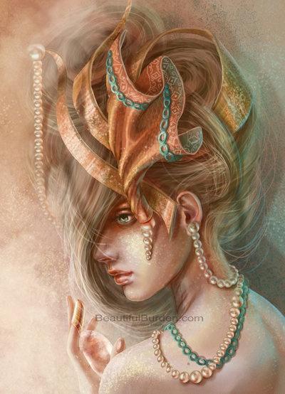 Фэнтези-портреты Jennifer Healy (16 работ)