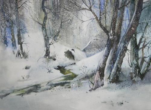 Акварель Александра Карпана (37 работ)