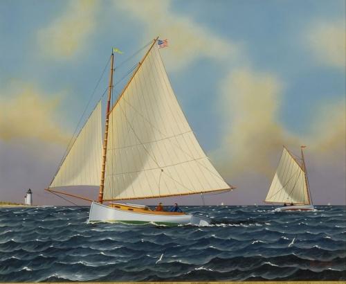 Художник-маринист Jerome Howes (64 работ)
