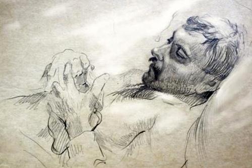 Художник Павел Мещеряков. Графика (32 работ)