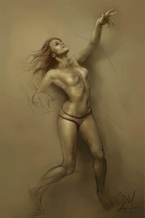 Художник цифровой и традиционной живописи Steve De La Mare (псевдоним - mrDExArts) (58 работ)
