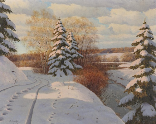 Пейзажи Бессонова Бориса Васильевича (1862-1934) (19 работ)