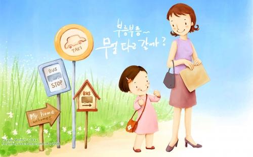 "Иллюстрации ""День Матери"" (Mother Day) (30 работ)"
