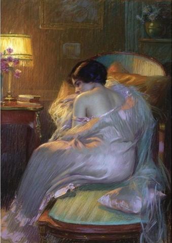 Художник Delphin Enjolras (1857 - 1945) (200 работ)