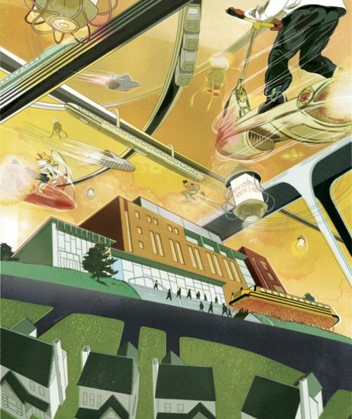 Иллюстрации от Marcos Chin (100 работ)