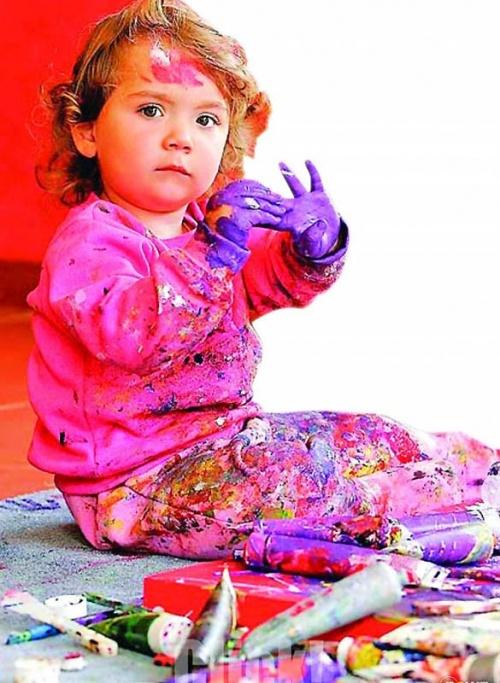 Самая юная художница - Аэлита Андре (35 работ)
