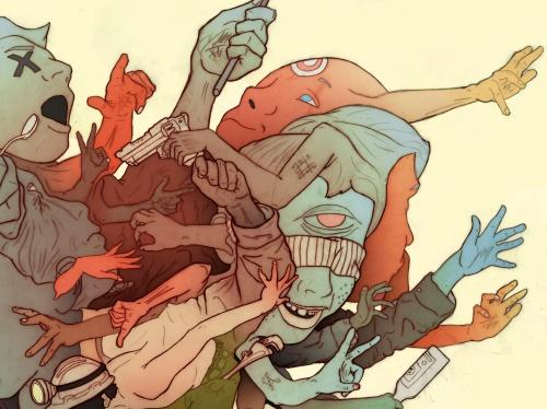 Иллюстрации от Miguel Mansur (45 работ)