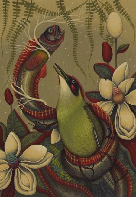 Картины акварелью от Lindsey Carr (Линдси Кар) (38 работ)