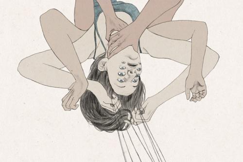 Иллюстратор Constanze Moll (Метаморфозы) (19 работ)