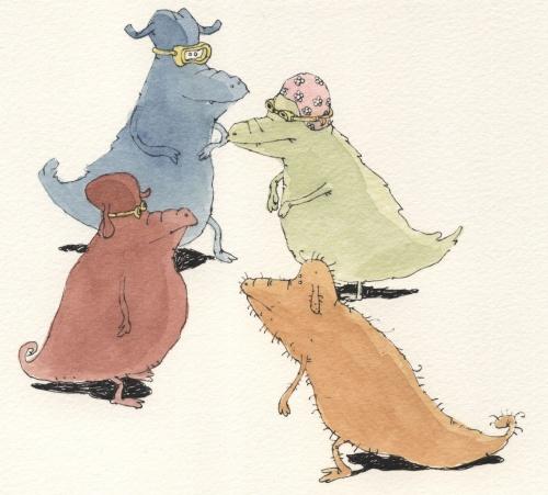 Работы шведского иллюстратора Mattais Adolfsson (304 работ) (2 часть)