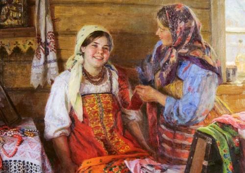 Художник Федот Васильевич Сычков (1887-1958) (109 работ)