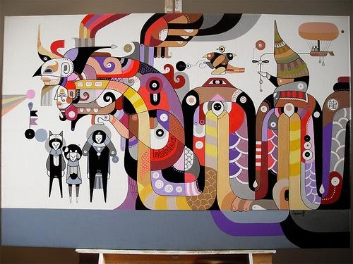 Бразильский иллюстратор Fernando Chamarelli (104 работ)