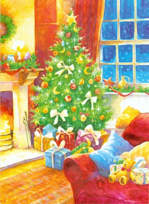 Открытки к Новому году часть 2 (77 открыток)