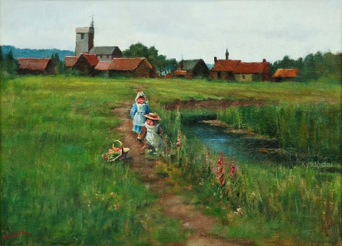 Maria Wiik (1853 - 1928) (25 работ)