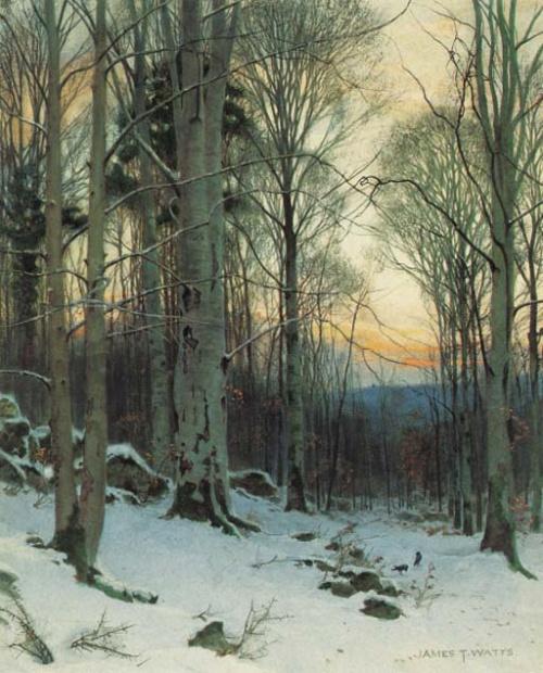 James Thomas Watts (1849 - 1930) (36 работ)