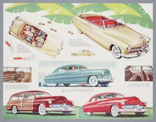 Dutch Automotive History (part 48) Mercury (170 фото)