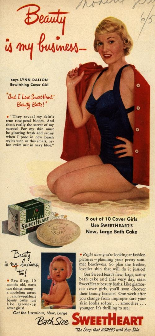 Реклама мыла 1950-е (49 фото)
