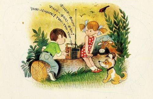 Художник - иллюстратор Виктор Александрович Чижиков (33 работ)
