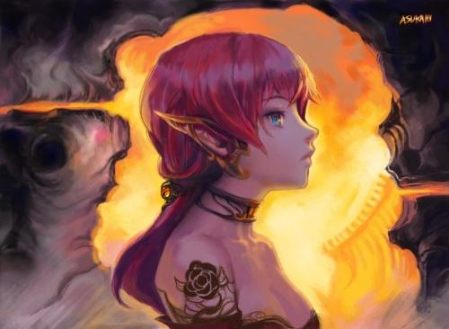 Работы художницы Asuka (59 работ)