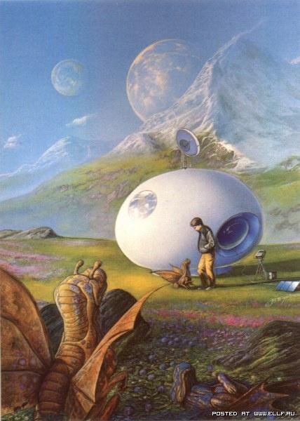 Творчество американского художника Боба Эгглетона (32 работ)