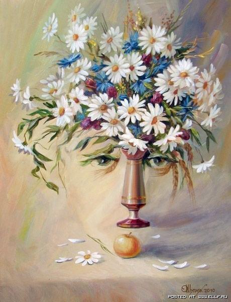 Картины-иллюзии Олега Шуплюка (16 работ)