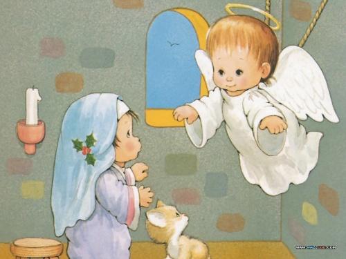 The Christmas Story of Ruth J. Morehead \ Рождественская история от Ruth J. Morehead (22 работ)