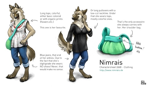 Animal & Anthro Illustration Nimrais (110 работ)