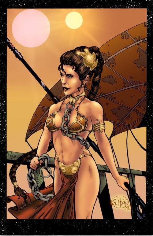 Принцесса лея эротика фото 519-619