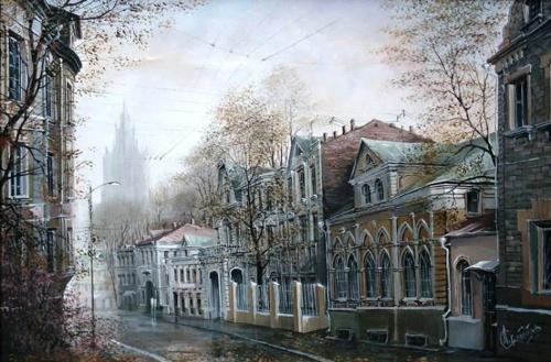 Пейзажно Старо-Московское. Александр Стародуб (31 работ)