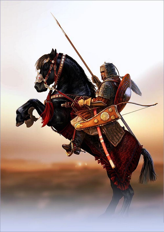 Дворянин всегда был в первую очередь воином, а уж потом всем остальным.