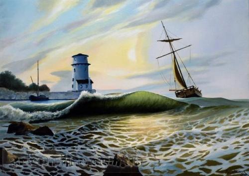 Украинский художник Деревенчук Владимир (Derevenchuk Vladimir) (85 работ)