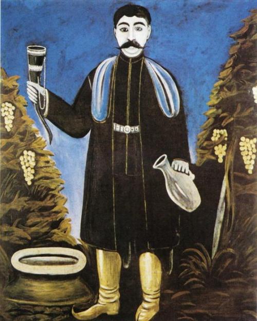 Работы грузинского художника - анималиста Нико Пиросмани (152 работ)
