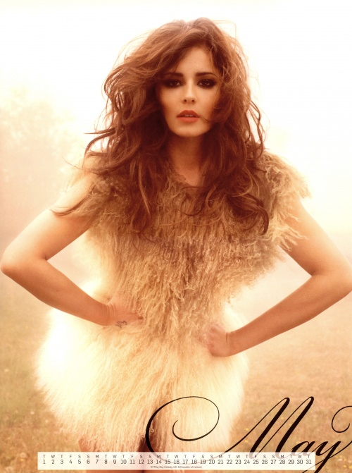 Cheryl Cole - Official Calendar 2012 (14 фото)