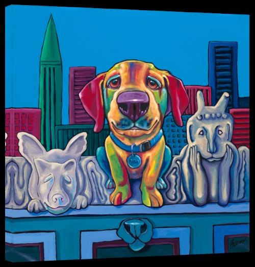 Собачий арт от Ron Burns (288 работ)