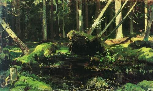 Шедевры русской живописи - Шишкин Иван Иванович (592 работ)