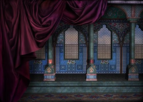 Сказочные замки (33 работ)
