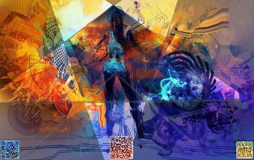 Цифровой художник Android Jones (49 работ)