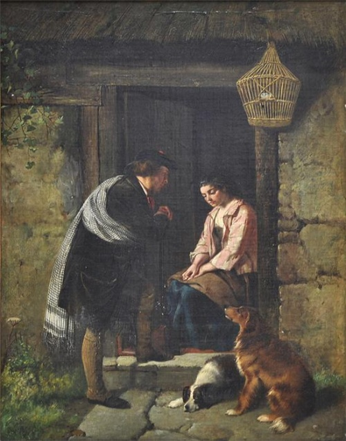 Английский художник Haynes King (1831-1904) (50 работ)